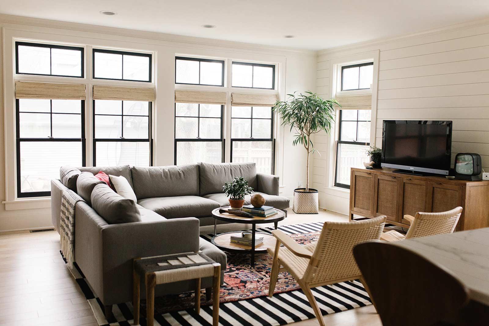 pomante home contractors living room remodel